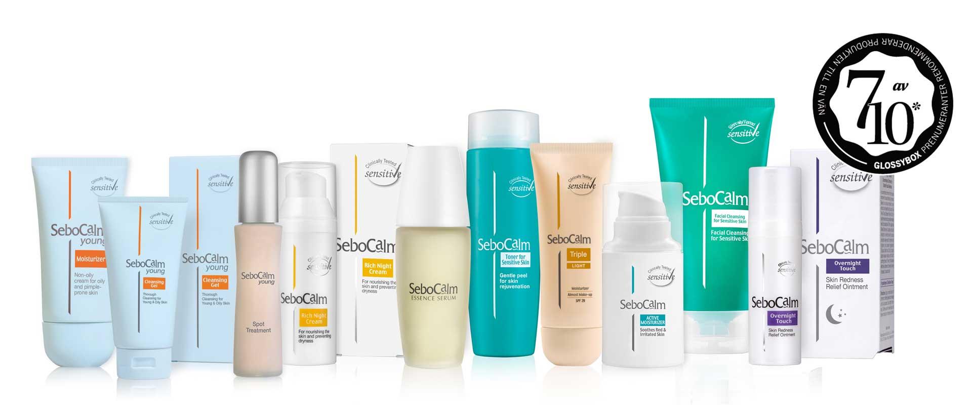 SeboCalm Sensitive skincare