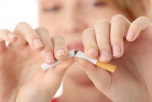 Rökning påverkar torr hud